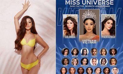 Khánh Vân được chuyên trang sắc đẹp dự đoán đăng quang Hoa hậu Hoàn Vũ