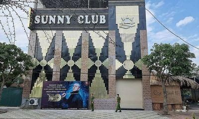 Vĩnh Phúc: Thu hồi giấy phép kinh doanh của quán bar-karaoke Sunny