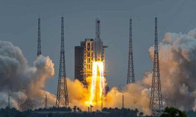 Mảnh vỡ tên lửa Trường Chinh của Trung Quốc sẽ rơi xuống Trái đất vào cuối tuần này