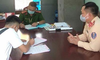 """Bắc Giang: Nam thanh niên không đeo khẩu trang, cố tình tăng tốc """"thông chốt"""" vào vùng dịch"""