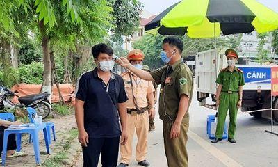 Giãn cách xã hội toàn bộ thị trấn Yên Lạc (Vĩnh Phúc) trong 15 ngày
