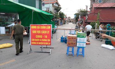 Từ 14h ngày 9/5, Bắc Ninh giãn cách xã hội toàn huyện Thuận Thành