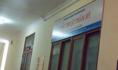 Phát hiện sai phạm tại một cơ sở thẩm mỹ viện ở Hà Nội