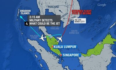 Máy bay mất tích: Triều Tiên, Nga, Iran trở thành
