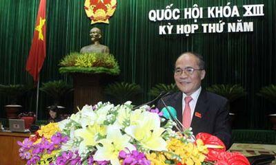 Kỳ họp thứ 6, Quốc hội khóa XIII: Thông qua Hiến pháp, cơ cấu nhân sự