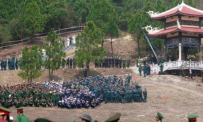 Vũng Chùa - Đảo Yến trước giờ đón linh cữu Đại tướng