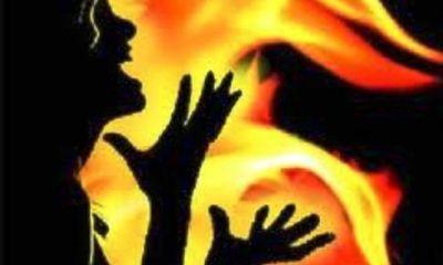 Hãi hùng người phụ nữ lẳng lơ bị người tình thiêu sống