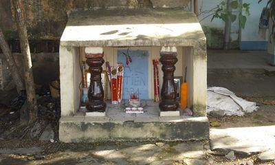 Ly kỳ ngôi miếu linh thiêng thờ chiến sỹ công an bị giặc Pháp xử bắn