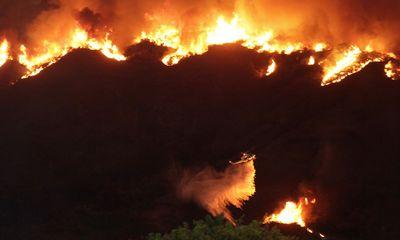 Mỹ: Tai họa cháy rừng vì đốt lửa trại