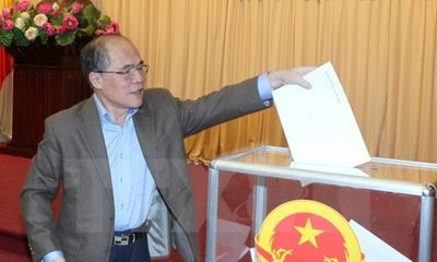 Lấy phiếu tín nhiệm đối với 57 chức danh Đảng đoàn Quốc hội