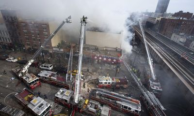 Hiện trường vụ nổ sập nhà ở New York