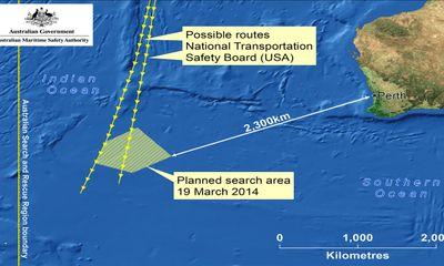 Tìm kiếm máy bay Malaysia ở vùng biển dữ Roaring Forties
