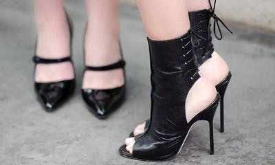 Giày cao gót tôn vinh nét quyến rũ của phái đẹp