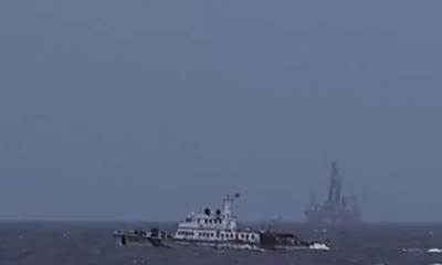 Tin tức Biển Đông mới nhất: Giàn khoan hạ thấp hơn bình thường