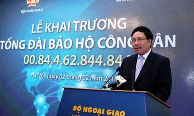 Việt Nam khai trương tổng đài bảo hộ công dân ở nước ngoài