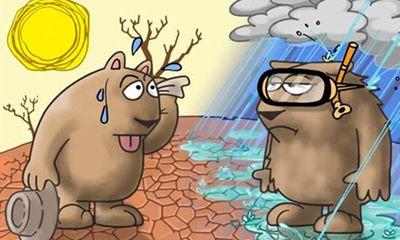 Tác động khủng khiếp của biến đổi khí hậu trong tương lai