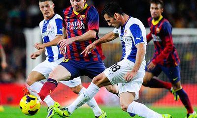 Barcelona 1-0 Espanyol: Messi nhạt nhòa, Alexis Sanchez sắm vai người hùng