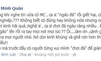 Facebook sao 24h: Minh Quân choáng vì đồng nghiệp