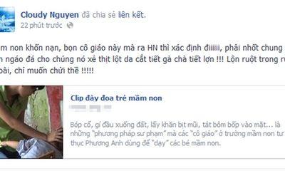 Facebook sao 24h: Sao Việt phẫn nộ đòi...xử bảo mẫu đày đọa trẻ mầm non