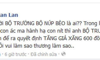 Facebook sao 24h: Siêu mẫu Xuân Lan
