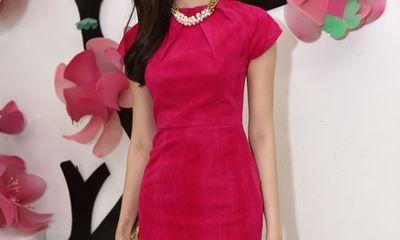 Hoa hậu Thu Thảo xinh đẹp, nền nã đi sự kiện