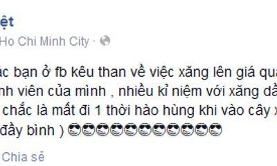 Khắc Việt ôn lại kỉ niệm thuở làm nhân viên bán xăng