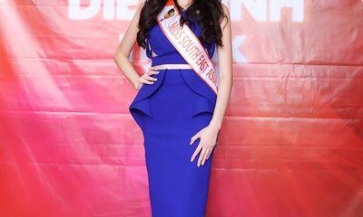 Hoa hậu Đông Nam Á Diệu Linh mở tiệc mừng thắng giải sau