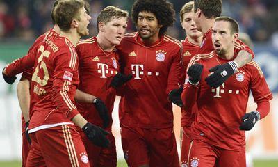 Đả bại đội bóng tí hon, Bayern cân bằng kỷ lục của Barca