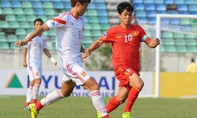 Clip: Thanh Tùng tỏa sáng, U19 Việt Nam vẫn bị Trung Quốc cầm hòa