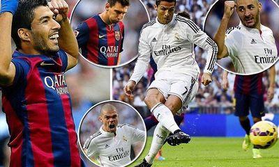 Clip: Real Madrid ngược dòng hạ gục Barca