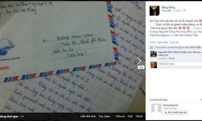 Ngôi sao U19 HAGL được fan nữ gửi thư tỏ tình gây sốt