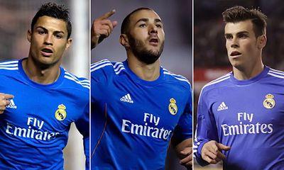 Lộ đội hình xuất phát của Real trong trận gặp Barca