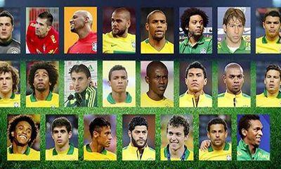 Brazil công bố đội hình dự World Cup 2014: Kaka bị bỏ quên