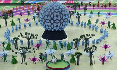 Những hình ảnh ấn tượng nhất trong Lễ khai mạc World Cup 2014