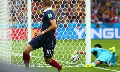 Video: Benzema lập cú đúp, Pháp hủy diệt Honduras