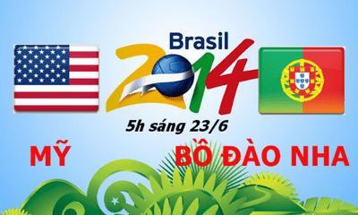Dự đoán tỷ số trận Bồ Đào Nha đấu với Mỹ 5h (23/6)