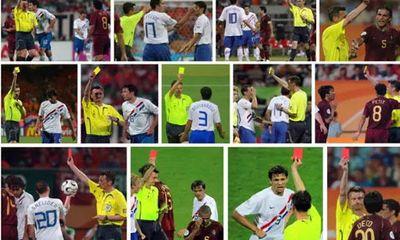 Clip: Trận đấu nhiều thẻ đỏ nhất lịch sử World Cup