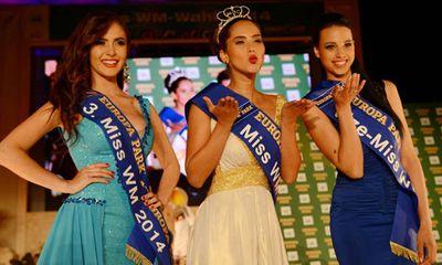 Mỹ nhân mê Falcao đăng quang Hoa hậu World Cup 2014
