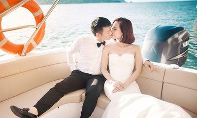 Trọn bộ ảnh cưới lãng mạn của Văn Quyến và nửa kia xinh đẹp