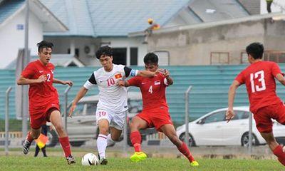 Sao U19 Việt Nam gây bão với cú đá 11m kiểu