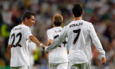 Clip: Bị Di Maria bôi xấu trên tập, Ronaldo nổi cơn lôi đình