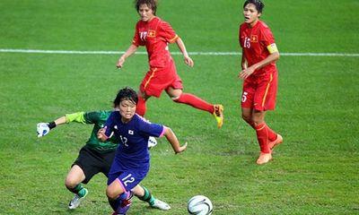 Lực bất tòng tâm, ĐT nữ Việt Nam thua đậm trước Nhật Bản