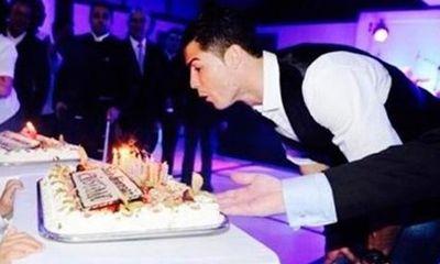 Giải đen, Ronaldo tổ chức tiệc sinh nhật linh đình