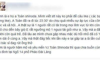 """Toàn Shinoda qua đời: Phẫn nộ những trò câu like """"rẻ tiền"""""""