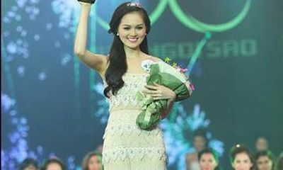 Nhan sắc hot girl Hye Trần giảm 10kg đăng quang Miss Ngôi Sao