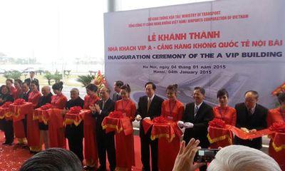 Thông xe cầu Nhật Tân, khánh thành nhà ga T2 Nội Bài