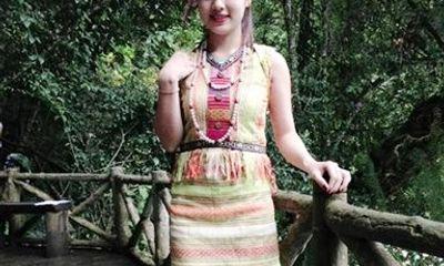 Phát sốt với bức hình cô gái Đắk Nông xinh đẹp