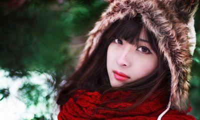 Chùm ảnh thiếu nữ Việt khoe sắc thiêu đốt trời Nga