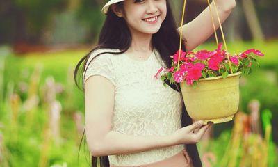 Vẻ đẹp dịu dàng của hot girl 9X Đà Nẵng khiến vạn người mê
