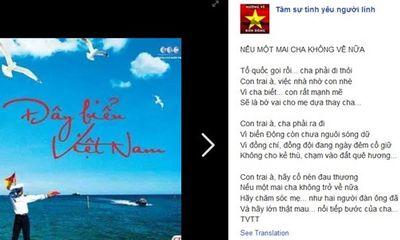Xúc động bài thơ người lính đảo gửi con trai nơi quê nhà